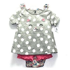 🎁 2 for $25 🎁 Carter's Baby Girl Outfit 24M
